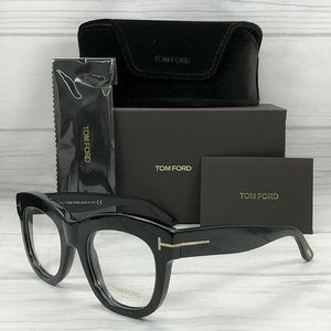 Tom Ford TF5493 001 Shiny Black 49mm Eyeglasses